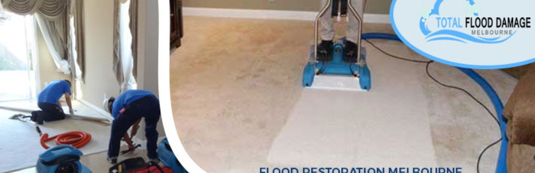Flood Restoration- An Expert Advice About Fixing The Water Damage