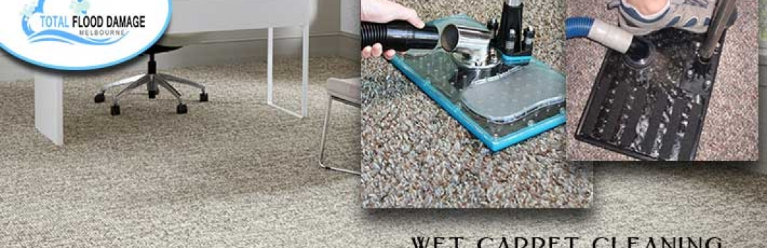 Ideas To Make Your Wet Carpet Dry That Damaged By Flood