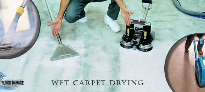 The Right Procedure- Practical Suggestion for Cleaning a Wet Carpet Drying Melbourne