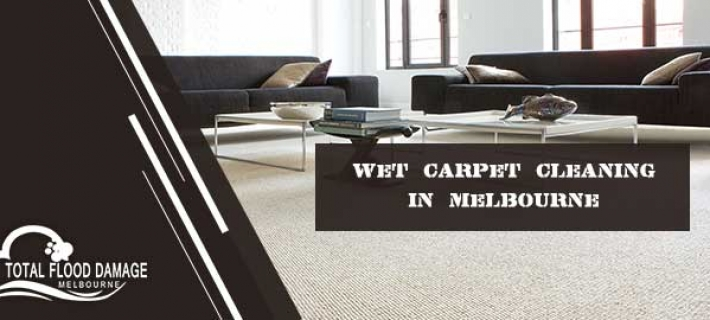 What is the Importance of Cleaning Wet Carpeting after Flood Damage?